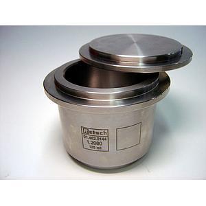 01.462.0144 - Bol de broyage comfort - acier spécial au chrome - 125 ml