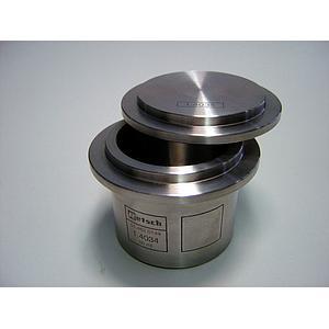 01.462.0149 - Bol de broyage comfort - acier inoxydable - 50 ml