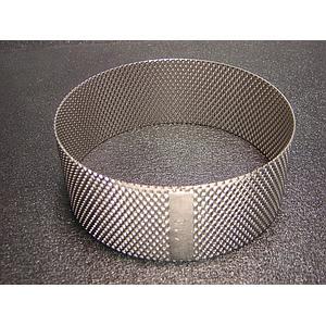 02.407.0032 - Tamis annulaire en acier inox 360 ° - 1.00 mm