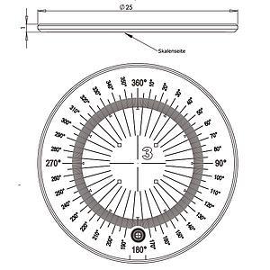 09470-TEC - Double échelle de mesure - Tech-line - Schweizer