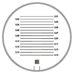 09490-TEC - Double échelle de mesure - Tech-line - Schweizer
