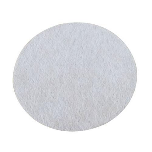 100 feuilles fibre de verre Ø 78 mm - Pour échantillons liquides, pâteux ou gras