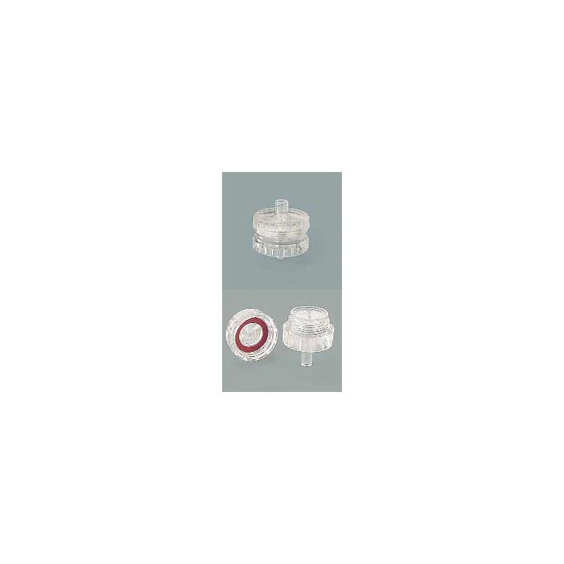 16517E - Dispositif de filtration en polycarbonate  pour solutions aqueuses ( Pack de 12)