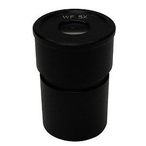 2 oculaires WF 5x / 22 mm - Optika