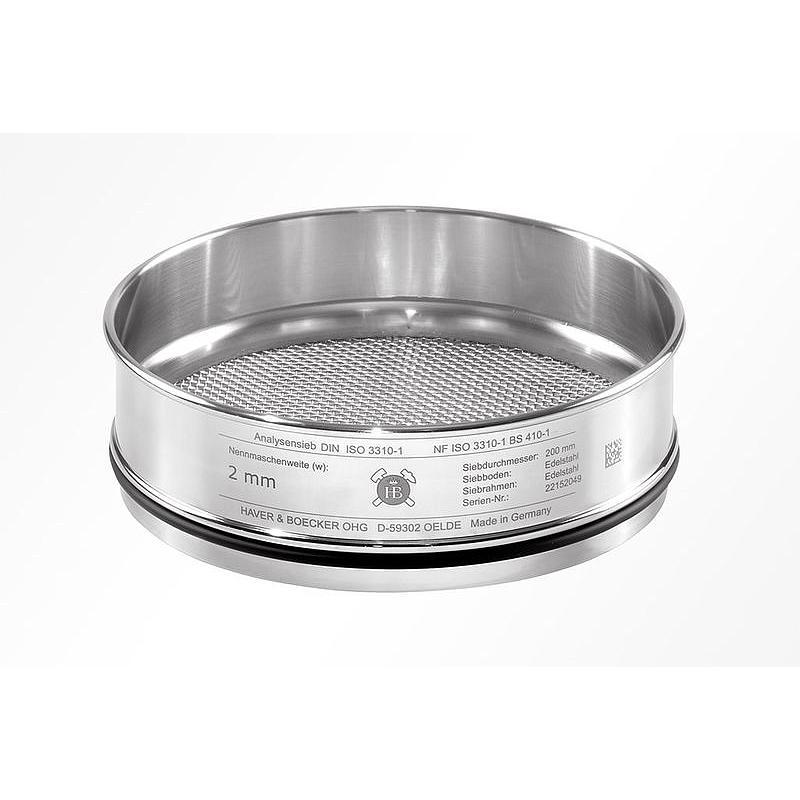 206149763 - Tamis Ø 305 mm - H 60 mm - 20 mm - ISO 3310-2 - Haver & Boecker