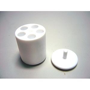 22.008.0005 - Adaptateur PTFE 5 tubes type Eppendorf 1.5 à 2 ml