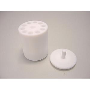 22.008.0006 - Adaptateur PTFE 10 tubes type Eppendorf 0.2 ml