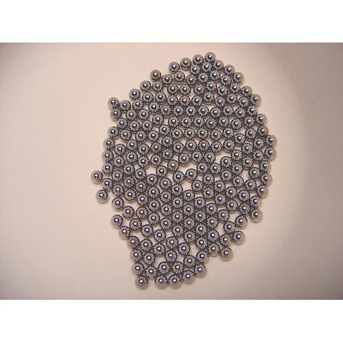 22.455.0001 - Bille de broyage pour tubes à réactions - Acier inoxydable - Ø 4 mm - Retsch