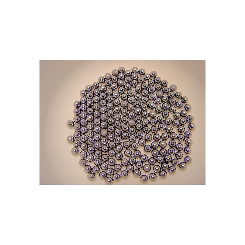 22.455.0004 - Bille de broyage pour tubes à réactions - carbure de tungstène - Ø 5 mm - Retsch