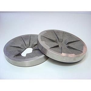 22.456.0002 - Jeu de disques de broyage - acier au manganèse