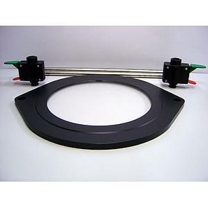 RETYLY Lot de 2 bo/îtes de jonction rectangulaires en plastique Noir 62 x 50 x 23 mm