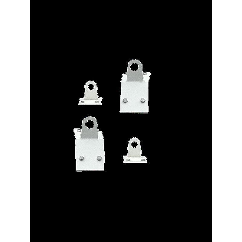 4 Attaches pour suspension de hotte par câble
