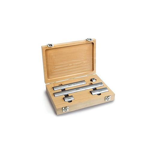 5 blocs d'étalonnage en acier - Boitier en bois - Sauter