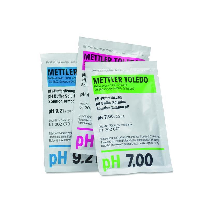51302069 - Tampon pH 4,01 - 30 sachets de 20 ml - Mettler toledo