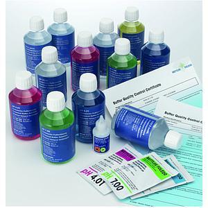 51350048 - Tampon pH 10,00 - 6 flacons de 250 ml - Certifié DKD - Mettler toledo