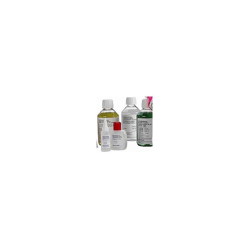 51350080 - Electrolyte KCl - 3 mol/l - 6 flacons de 250 ml - Mettler Toledo