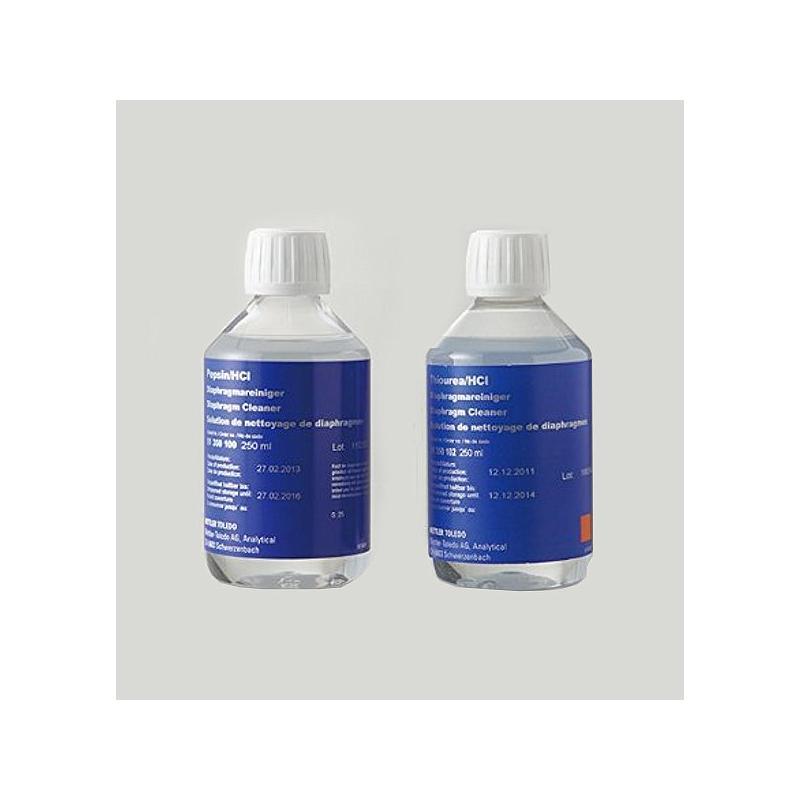 51350100 - Pepsine-HCL pour nettoyage des électrodes - flacon de 250 ml - Mettler Toledo