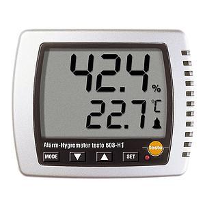 608-H1 - Afficheur hygromètrie et température - Testo