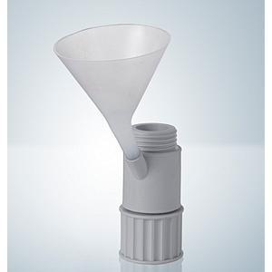 Adaptateur avec tubulure de remplissage RS 12/21 pour entonnoir - Hirschmann
