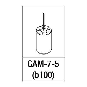 Adaptateur pour 5 tubes 2.6...7 ml - Gyrozen