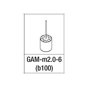 Adaptateur pour 6 tubes 1.5/2 ml - Gyrozen