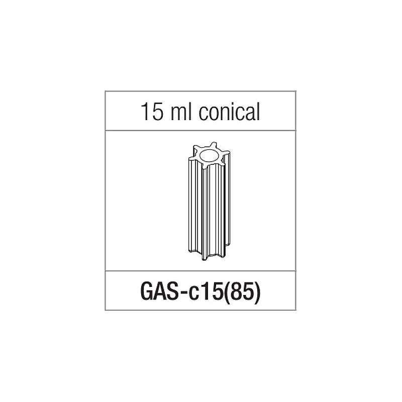 Adaptateur pour tube à fond conique de 15 ml - Gyrozen