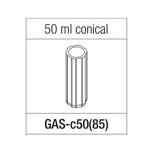 Adaptateur pour tube à fond conique de 50 ml - Gyrozen