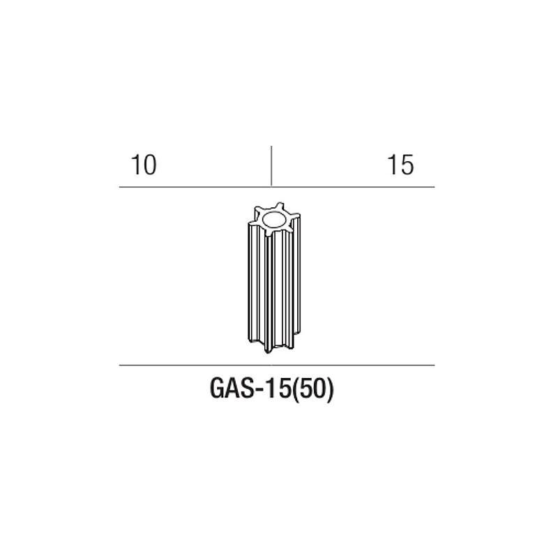 Adaptateur pour tube à fond rond 10 / 15 ml pour rotors GRF-L-50-6, GRF-G/L-50-8 - Gyrozen