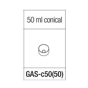 Adaptateur pour tube conique de 50 ml - Gyrozen