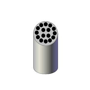 Adaptateur réducteur pour 16 tubes Vacu - 13 x 75 mm