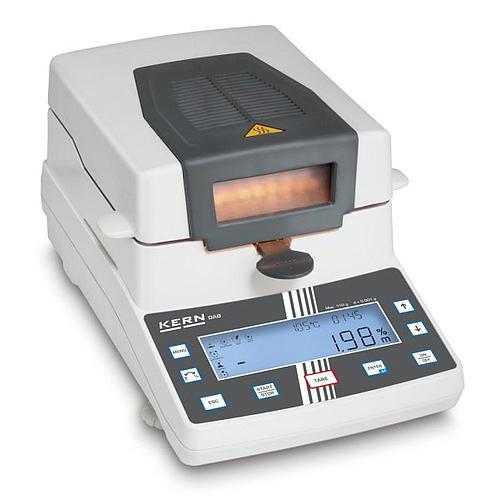 Analyseur d'humidité : dessiccateur halogène DAB 100-3 - Kern