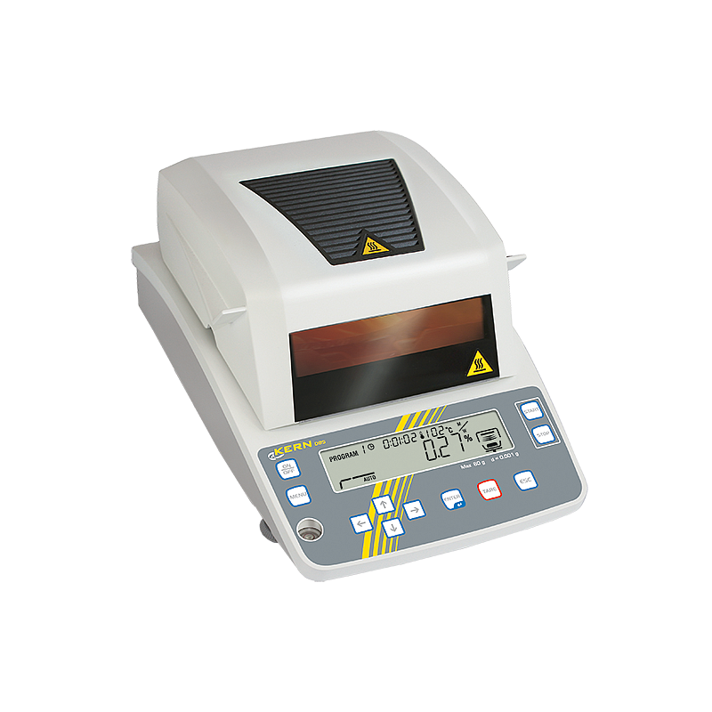Analyseur d'humidité : dessiccateur halogène DBS 60-3 - Kern