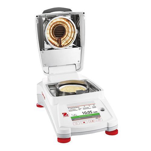 Analyseur d'humidité : dessiccateur halogène de précision MB120 - OHAUS