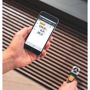 Anémomètre à hélice avec commande smartphone 410i - Testo