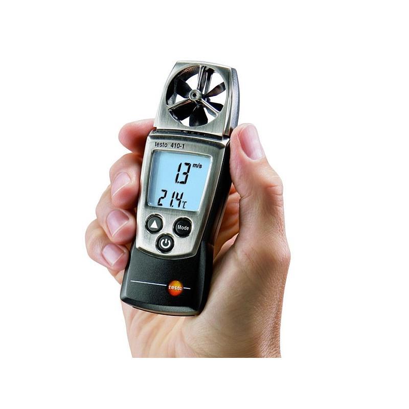 Anemometre : Mesure de la vitesse d'air - anémomètre à hélice - Testo 410-1
