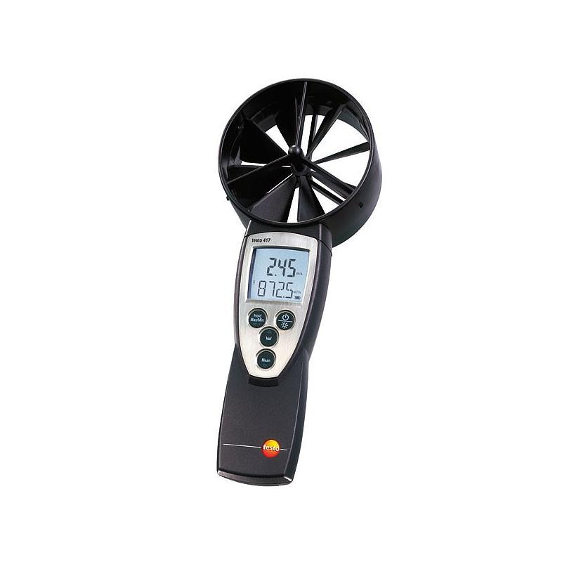 Anemometre : Mesure de la vitesse d'air - anémomètre à hélice - Testo 417