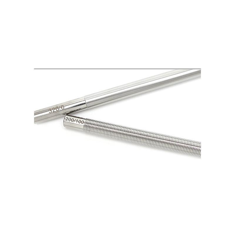 Applicateur tige à spirale - 200 mm - 60 µm