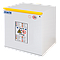 Armoire de sécurité anti-feu EOF706D - 90 min - Produits inflammables