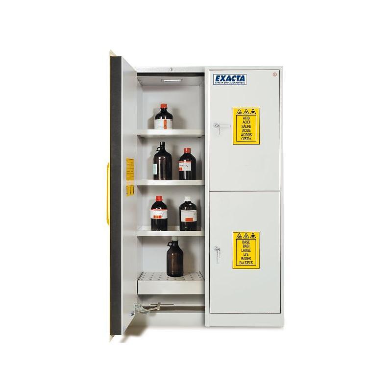 Armoire de sécurité multirisques - Acide / Base / Inflammables