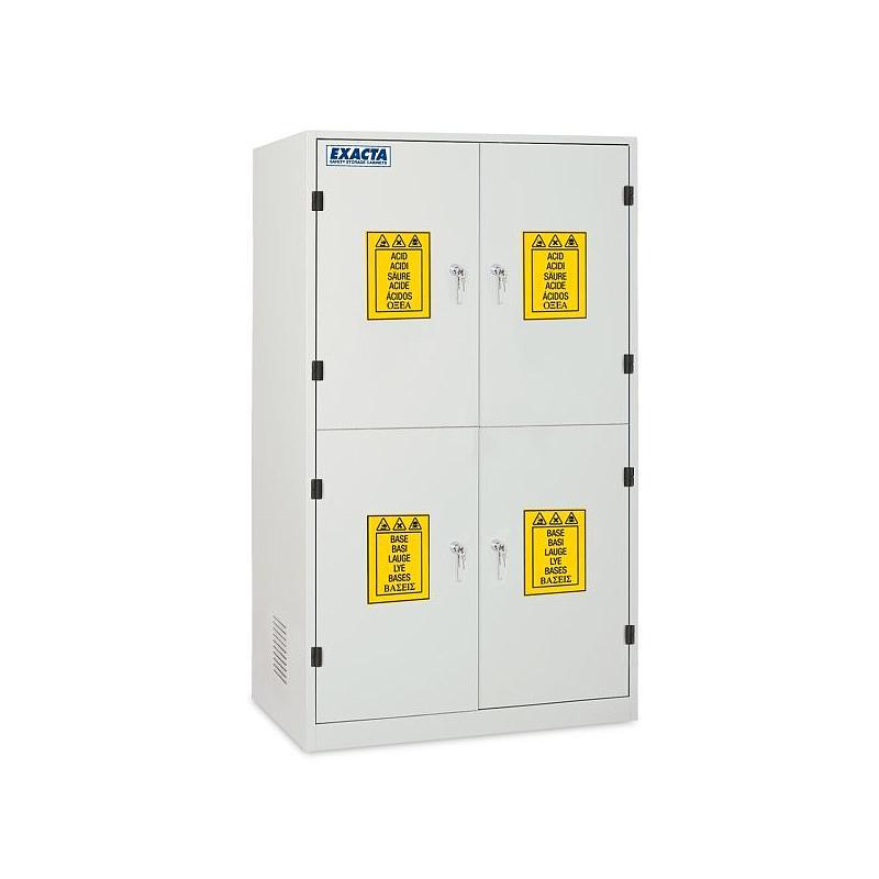 Armoire de sécurité multirisques COMBICHEM 4C - Acides / Bases / Toxiques / Nocifs