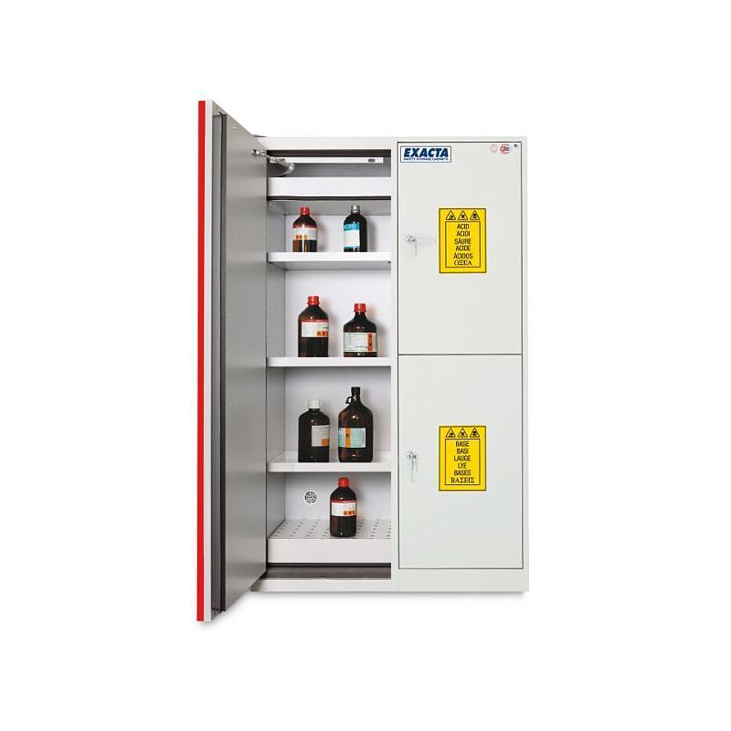 Armoire de sécurité multirisques COMBISTORAGE 4 - Acide / Base / Toxique / Inflammables
