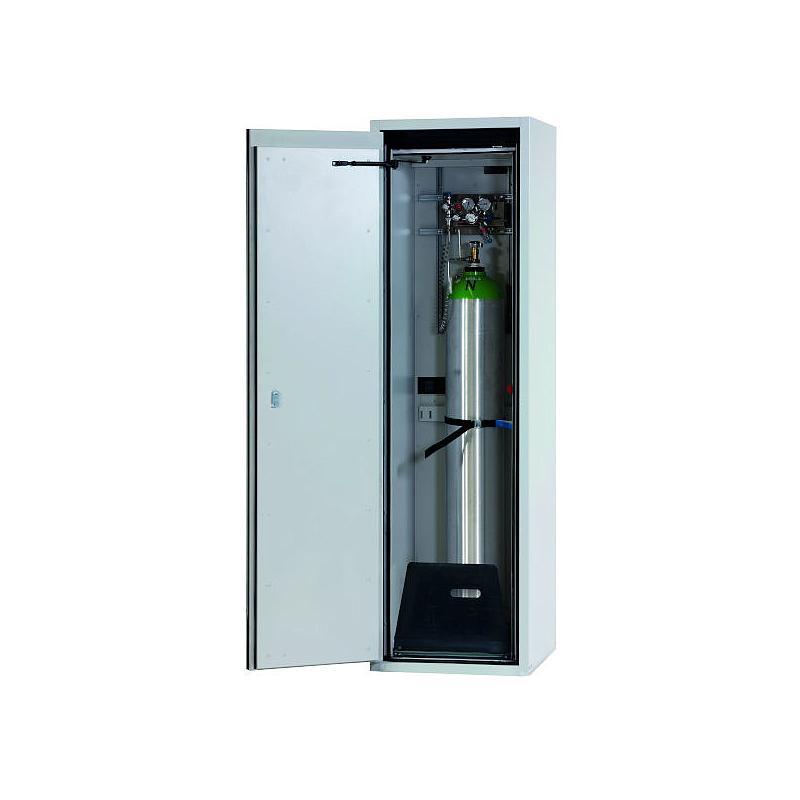 Armoire de sécurité pour bouteilles de gaz L.598xP.615xH.2050 mm