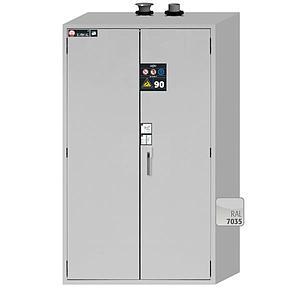 Armoire de sécurité pour bouteilles de gaz L1198 x p615 x H2050 mm