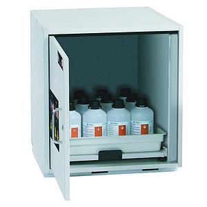 Armoire de sécurité sous paillasse (acides/bases) L.590xP.570xH.600 mm