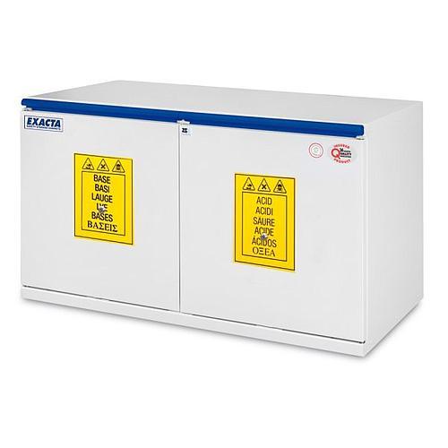 Armoire de sécurité sous paillasse EO611AB - Acides / Bases - 1100 mm