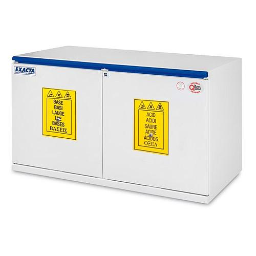 Armoire de sécurité sous paillasse EO711AB - Acides / Bases - 1100 mm
