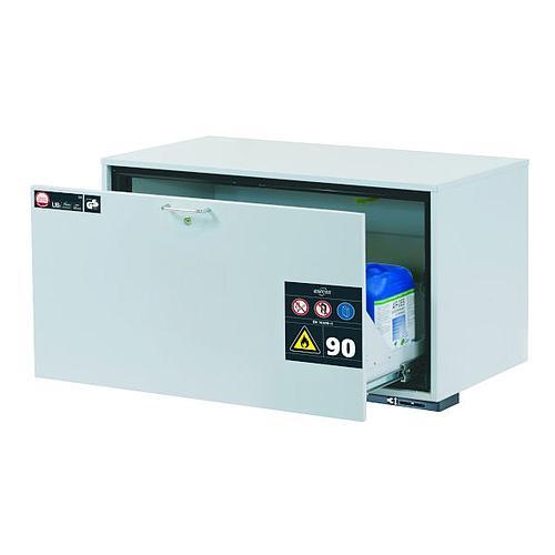 Armoire de sécurité sous paillasse L.1102 x P.502 x H.600 mm