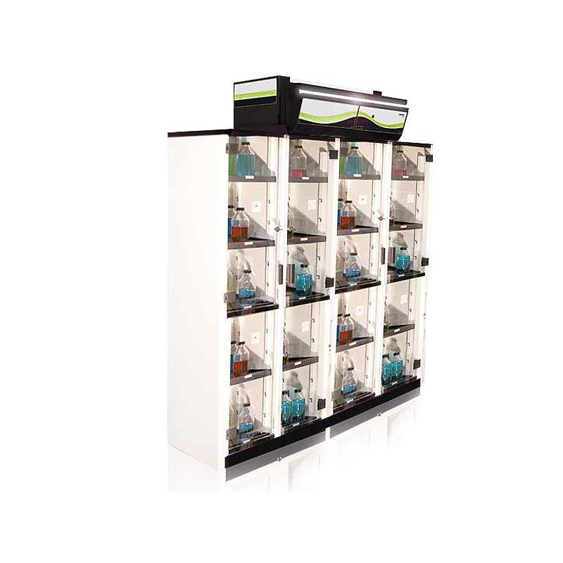 Armoire de sécurité ventilée, filtrée Captair 1634 Smart, équipement 2 - Erlab