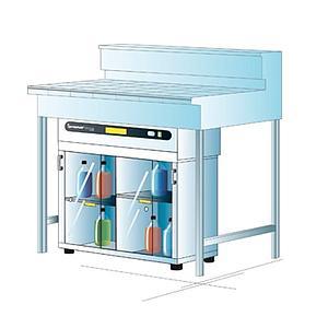 Armoire de sécurité ventilée pour produits chimiques Captair MiniStore 822 - Erlab