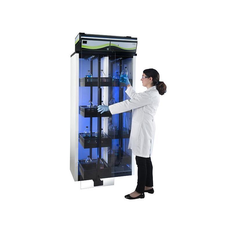Armoire de sécurité ventilée pour produits chimiques Captair Store 832 Midcap - Erlab
